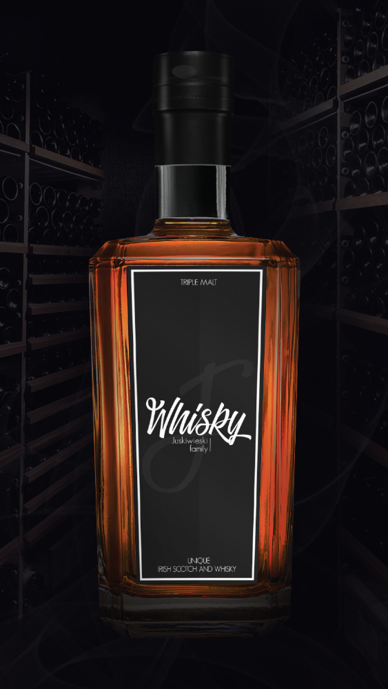 Juskiwhiesky bottle